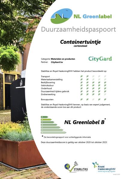 CityGuard containertuintje
